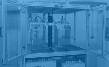 Řídicí systém teplotního šokového standu